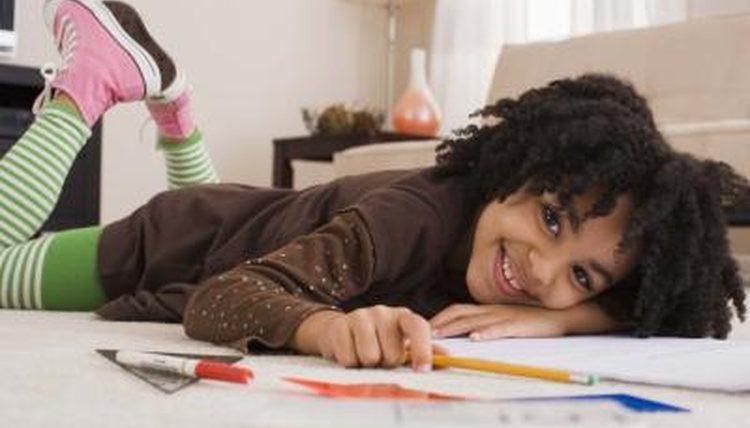 Children studying ESL Online