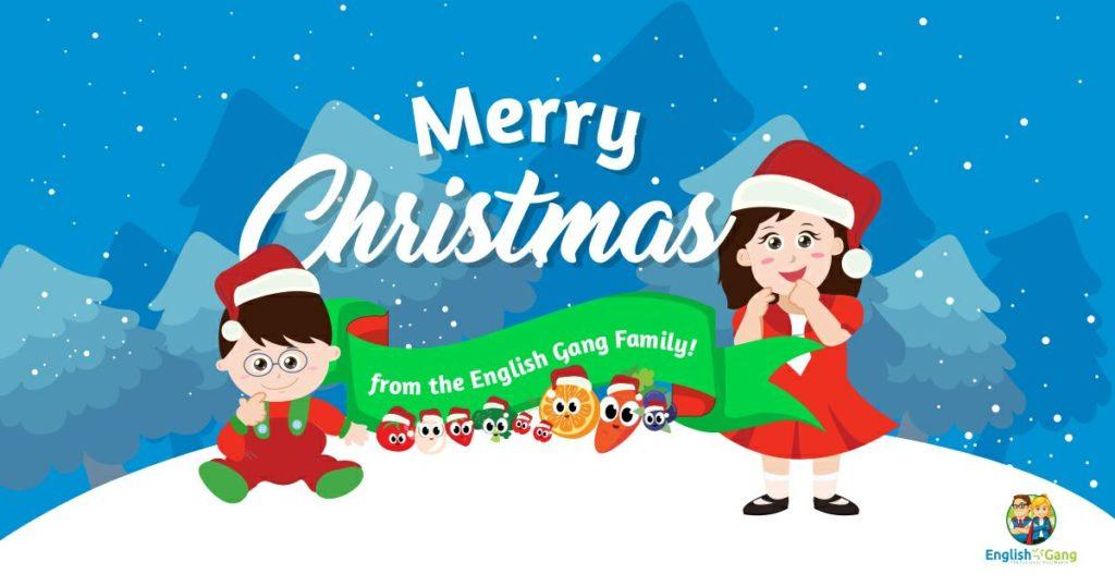 English Gang says Merry Christmas