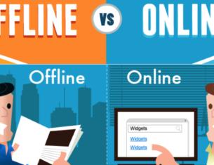 Learning English Online vs. Offline