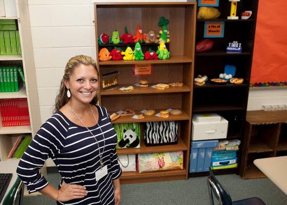 Teacher Christina